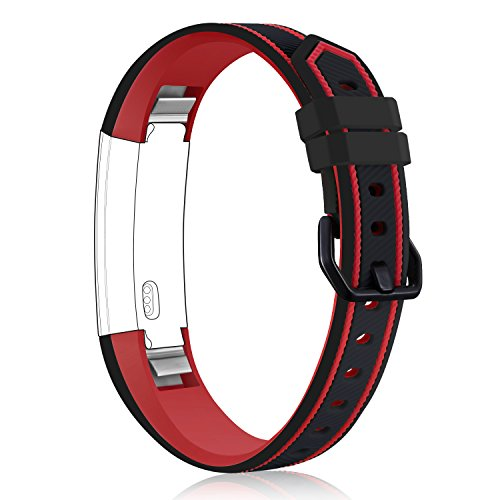 For Fitbit Alta HR and Alta Bands,Konikit Newest Adjustable Sport Replacement Accessory Strap for Fitbit Alta (HR) Fitness Wristbands,Small &Large,No tracker