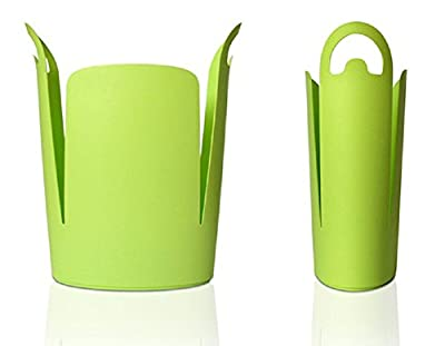 Urbano Eco Trash Can, Green