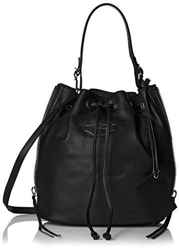 Balenciaga Women's Leather Cross-Body, Black