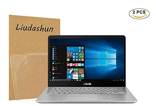 Asus Q405UA Screen Protector,HD Clear LCD Anti-Scratch Anti-Fingerprints Guard Film For 14'' Asus Q405UA 2-in-1 Laptop(2-pack) by Liudashun