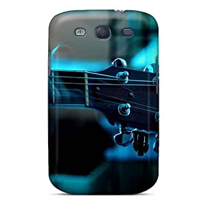 S3 Scratch-proof Protection Case Cover For Galaxy/ Hot Guitar Phone Case