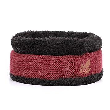 43df7dbace1d5f HOKUGA: 2018 Brand bone men's Winter Hat knitted wool beanies men Hip-Hop  capTurban