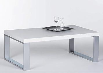 Stella Trading Couchtisch Steel 16733 Wohnzimmertisch Tisch Weiss