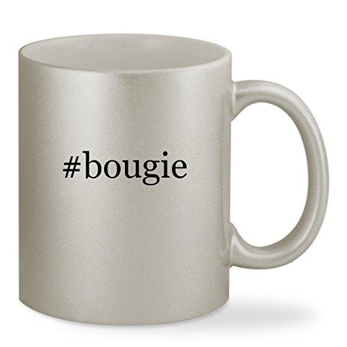 #bougie - 11oz Hashtag Silver Sturdy Ceramic Coffee Cup Mug