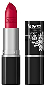 lavera Pintalabios brillo Beautiful Lips Colour Intense - Timeless Red 34- cosméticos naturales 100% certificados - maquillaje - 4 gr