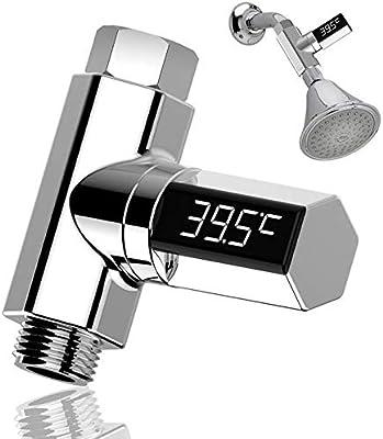 LED Digital Display BabyShower Thermometer LED Visual Water Temperature Sensor U