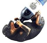 Ebros Lifelike Purebreed Pedigree Canine Adorable Rottweiler Butcher's Dog Wine Bottle Holder Figurine Statue As Kitchen Wine Cellar Centerpiece Decor Storage Organizer (Rottweiler)