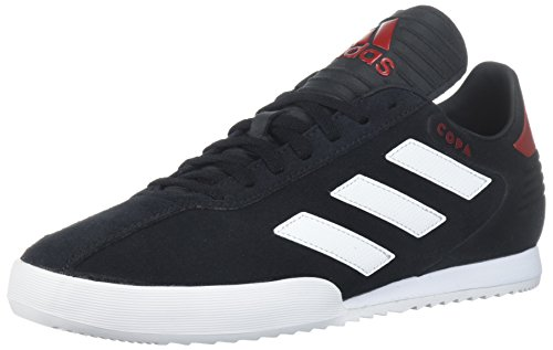 (adidas Men's Copa Super Soccer Shoe, Black/White/Power red, 8.5 M)