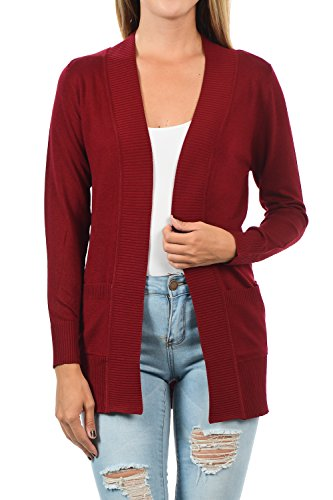 YourStyle Women Sleeve Classic Cardigan