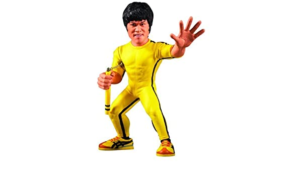 Round 5 Bruce Lee 6 Inch Action Figure Game of Death Bruce Lee ...