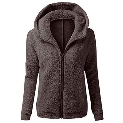 jin&Co Women's Long Sleeve Zipper Hoodies Tops Casual Fleece Sweatshirt Coat with Pocket: Clothing