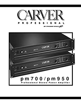 carver pm 950 amplifier owners manual misc 0705210076400 amazon rh amazon com Carver Stereo Components Bob Carver Speakers