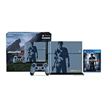 PS4 500GB Limited Edition Uncharted 4 PlayStation 4 Bundle