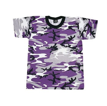 Rothco Ultra Violet Camouflage T-Shirt (Polyester/Cotton) Size ()