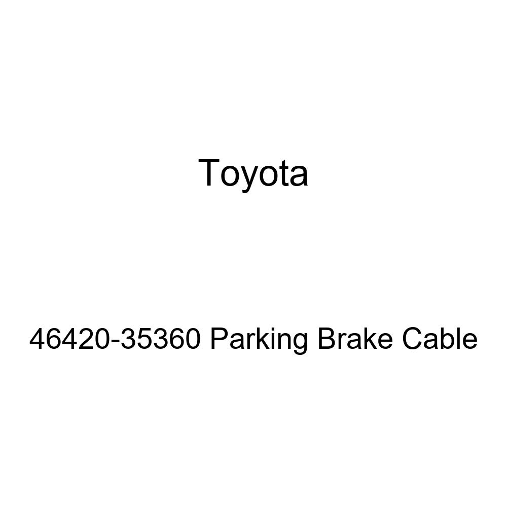 Toyota 46420-35360 Parking Brake Cable