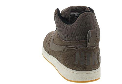 Nike Court Borough Mid Prem Größe (Variation) 43, Größenschema 43, Variationsfarbe Braun, Farbschema Braun