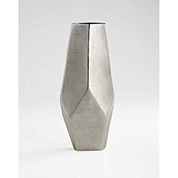 Amazon Zinc Decor Tall Modern Aluminum Metal Flower Vase