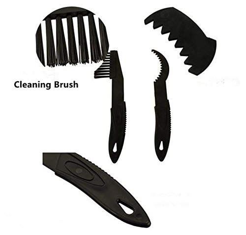 Wehous 2 X Bicycle Chain Clean Brush Cleaning Bike Cycling Cleaner Scrubber Tool Set Kit