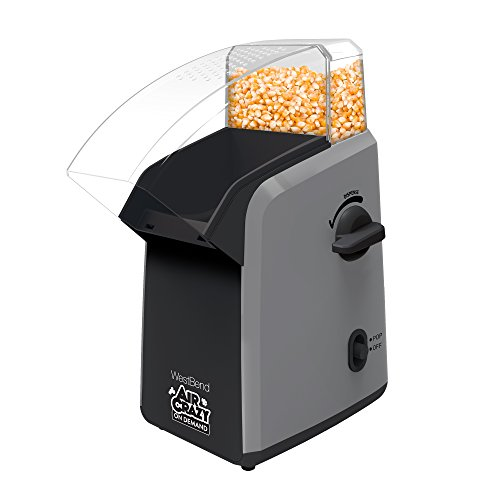 Air Crazy 82702GB Popcorn on Demand, Black