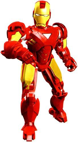 Mega Bloks 1- Ironman 2 Mark (Mark 6 Iron Man Suit)