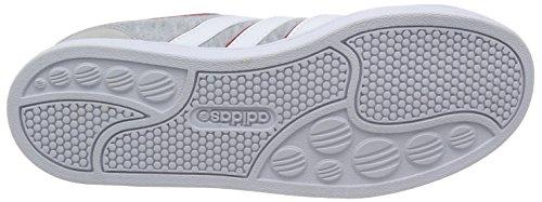 adidas - Zapatillas de cuero y tela para hombre multicolor clonix/ftwwht/powred Medium