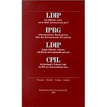 LDIP Loi fédé. suisse droit inter. privé