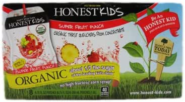 Juice Boxes: Honest Kids