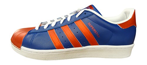 Adidas Originelen Superstar Metallic Pack Heren Sneakers Sneakers Schoenen (us 10.5, Croyal / Cornag / Ftwwht S81725)