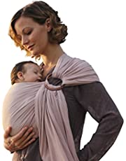 Nalakai Ring Sling Baby Carrier - Luxury Bamboo and Linen Baby Sling - Baby Wrap
