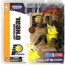 Mcfarlane Toys NBA Series 4 Jermaine O'neal #7, Indiana Pacers Yellow Jersey