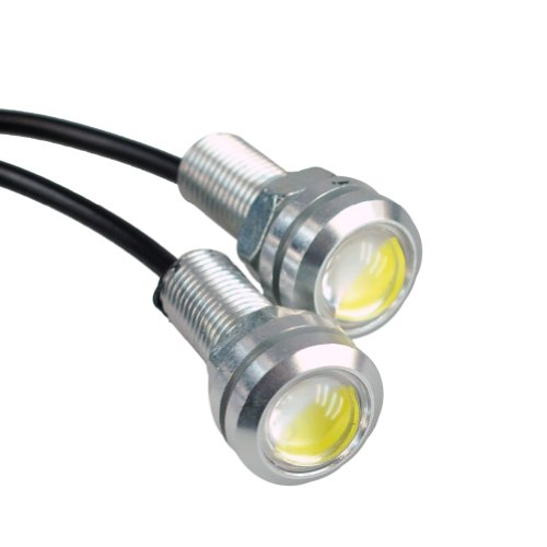 (HOTSYSTEM 12V 9W Eagle Eye Lamp Led Light Bulbs For Car Tail Car Motor Backup Light Fog Light White 12-pack)