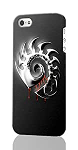 iPhone 5C 3d Case ~ Starcraft 2 ~ ABCone Personalized Custom iPhone Plastic Phone Case Back 3D Rough Diy Cover for Iphone 5C