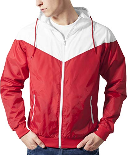 Classics Tb148 00202 Giacca Uomo Arrow Windrunner Urban wht Antivento Multicolore red OZSnfx