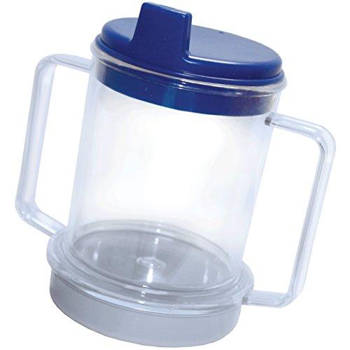Rehabilitation Advantage Weighted Two Handle Clear Mug
