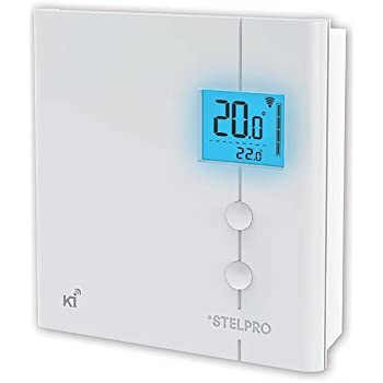 Stelpro Z-Wave Plus KI STZW402WB+ Thermostat (White) for Electric Baseboards and Convectors