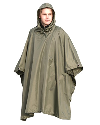 Rip Style Hoodie Army Olive Impermeable Poncho Us Green Stop Impermeable w5IPRqa