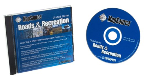 Garmin Roads Recreation CD ROM Windows