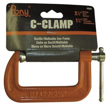 Adjustable Clamp Company Adjustable C-Clamp Iron Frame 2-1/2