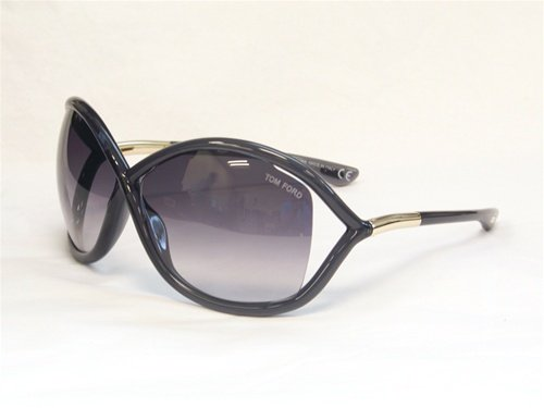 Tom Ford Women's FT0009 Sunglasses, Dark - Ford Ladies Tom
