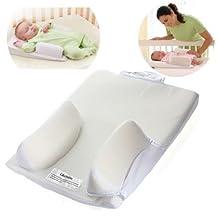 Newborn Baby Infant Anti Roll Pillow Sleep Positioner Cushion