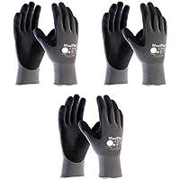 34-874 XS MaxiFlex Ultimate Nitrile Grip Work Gloves Size X-Small (3) by Maxiflex