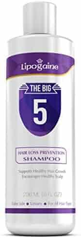 Lipogaine Hair Loss Hair Growth Stimulating All Natural Shampoo (purple)
