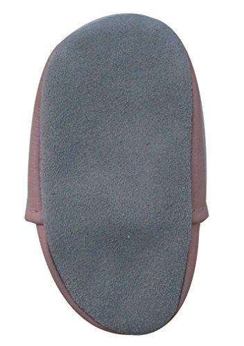 Carozoo Shoeszoo Ladybug Flower Pink little Soft sole leather infant crib shoes Photo #3