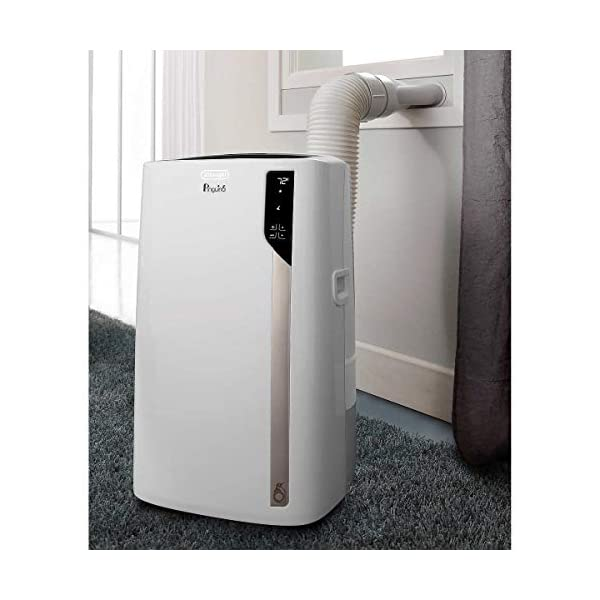 DeLonghi Pinguino PACEL275HGRKC-3A 500 sq ft 4 in 1 All Season Use: Air Conditioner,...