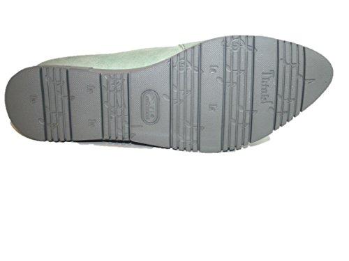 Flat Mint Think Women Ankle Green Strap 55 Kombi Ballet OIWAI 7O4x6