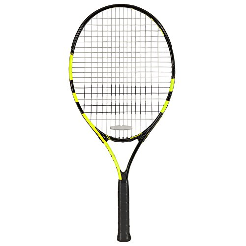 Babolat Nadal Junior 25 Tennis Racquet  Strung , Grip Size   0  3.375    Black Yellow