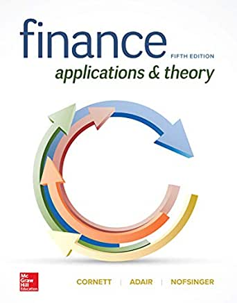 Finance applications and theory pdf