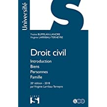 Droit civil. Introduction Biens Personnes Famille (Université) (French Edition)