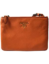 Orange Papaya Vitello Leather Phenix Designer Crossbody Handbag for Women  1BH046 · Prada e8fdbfbbfc