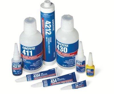 Loctite 442-41045 410 Prism Instant Adhesive, 3200 psi Tensile Strength, 20gm Bottle, Black